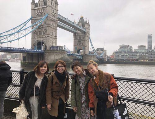 行ってまいりました ロンドン研修